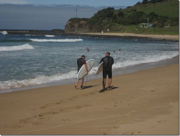 Beachside homes on Werri beach, Gerringong