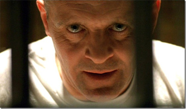Anthony Hopkins as Dr Hannibal Lecter