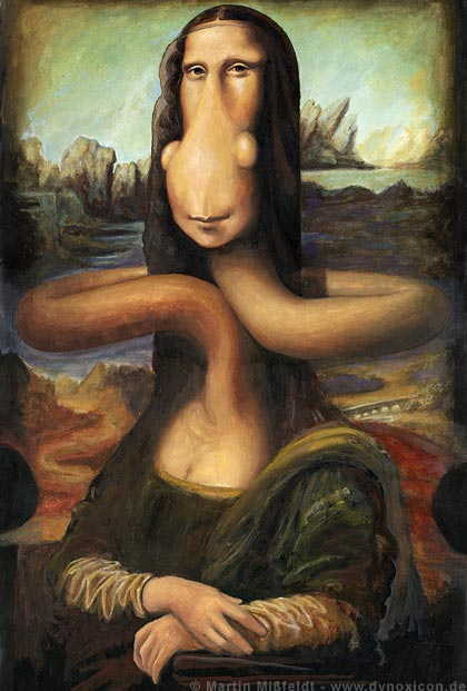 Mona Lisa variation by Martin Missfeldt