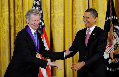Van Cliburn and President Obama