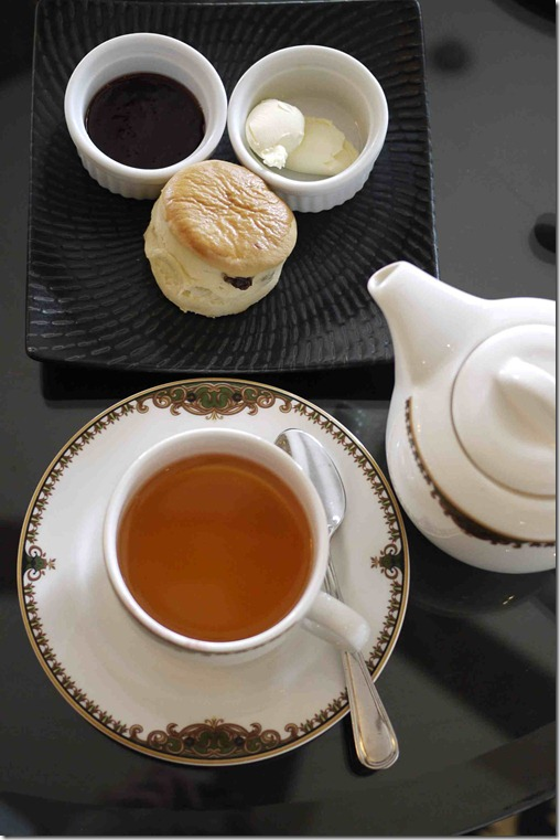 Tea and scones at Cameron Highlands Resort