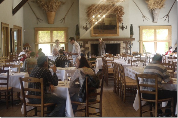 Dining room at Centennial Vineyards, Bowral