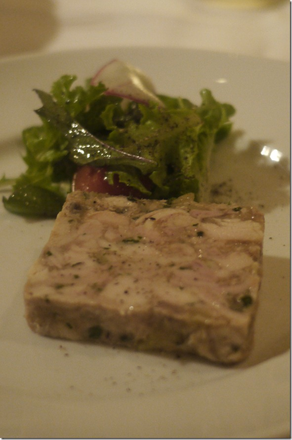 Rabbit terrine