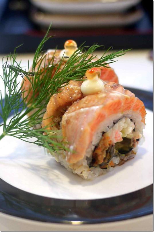 Salmon roll $5.80