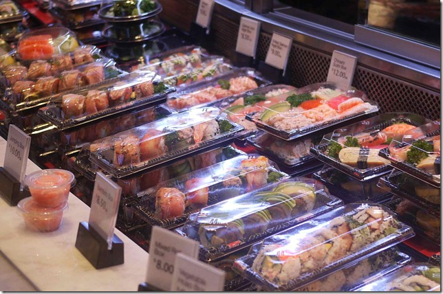 Takeaway suhi at Sushi Hon, Westfield Sydney