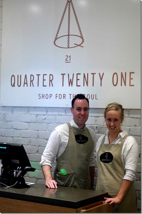 Friendly floor staff, Quarter Twenty One