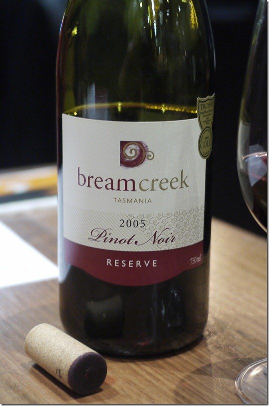 Bream Creek Pinot Noir (BYO $6.50 per bottle)
