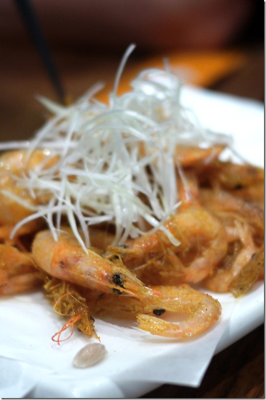 Deep fried school prawns $10.50