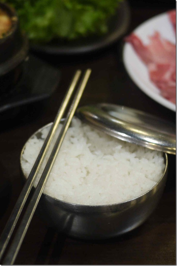 Steamed rice $1.00 per bowl