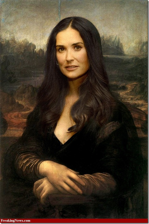 Demi-Moore-as-Mona-Lisa