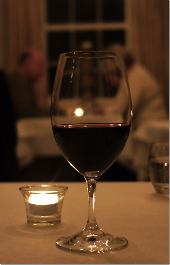 Glass of Bong Bong Shiraz