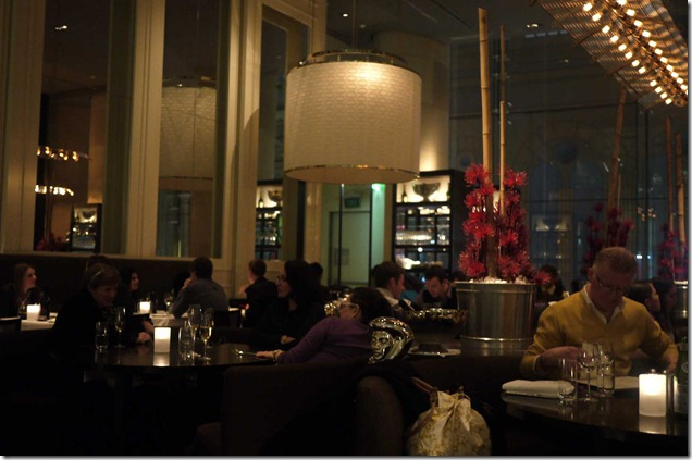 Dining room, Glass Brasserie, Hilton Sydney