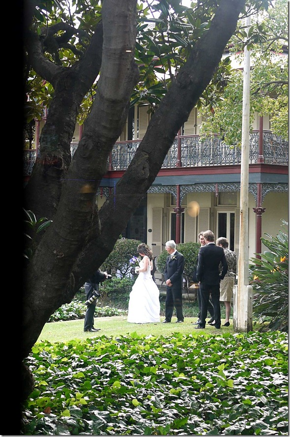 Wedding at Boronia House, Mosman