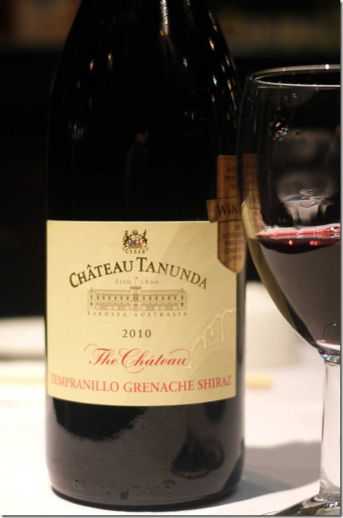 2010 Tempranillo Grenache Shiraz from Chateau Tanundra