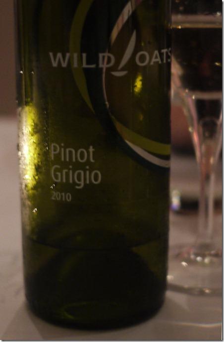 2010 Wild Oats pinot grigio