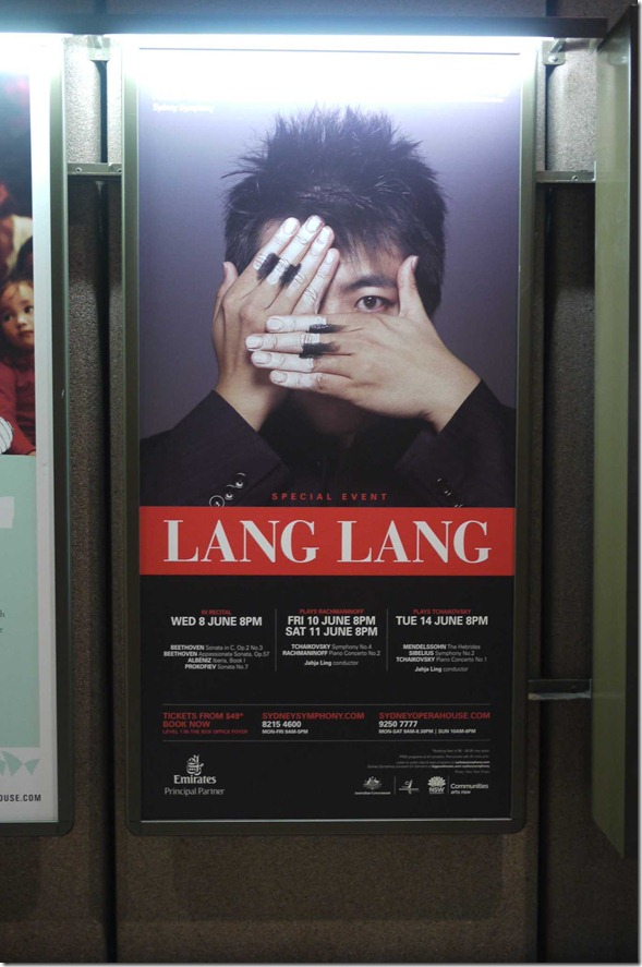Lang Lang plays Rachmaninoff at Sydney Opera House, June 2011