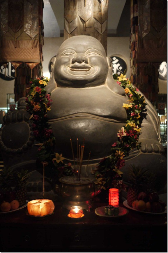Iconic - the smiling buddha at Chinta Ria Temple of Love