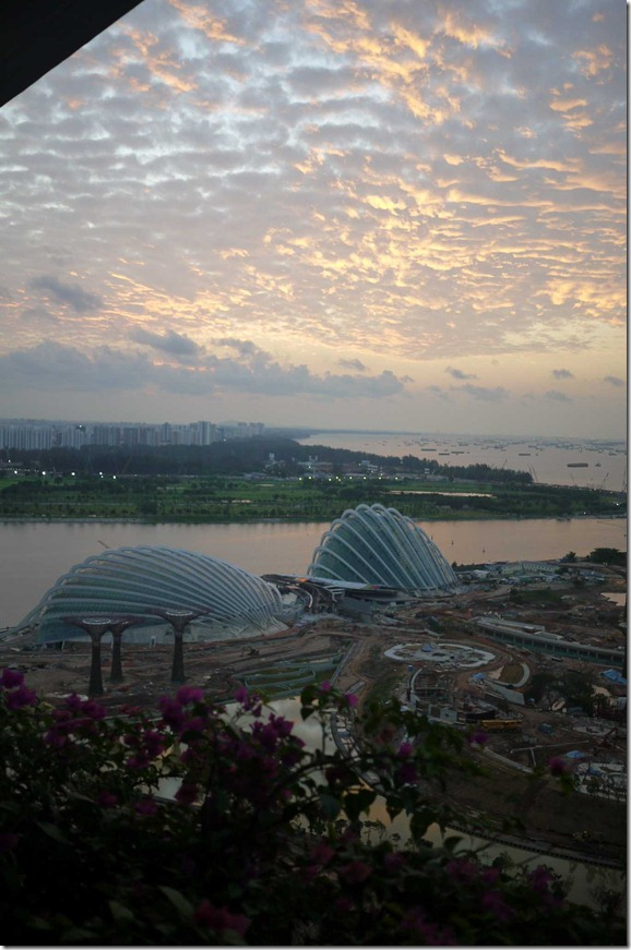 South-eastern views, Marina Bay Sands
