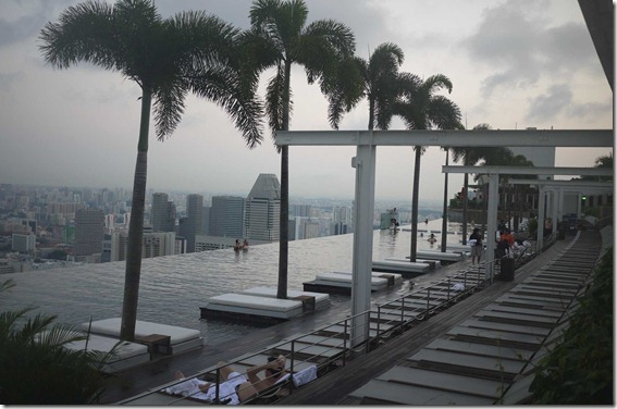 Sky pool, Marina Bay Sands