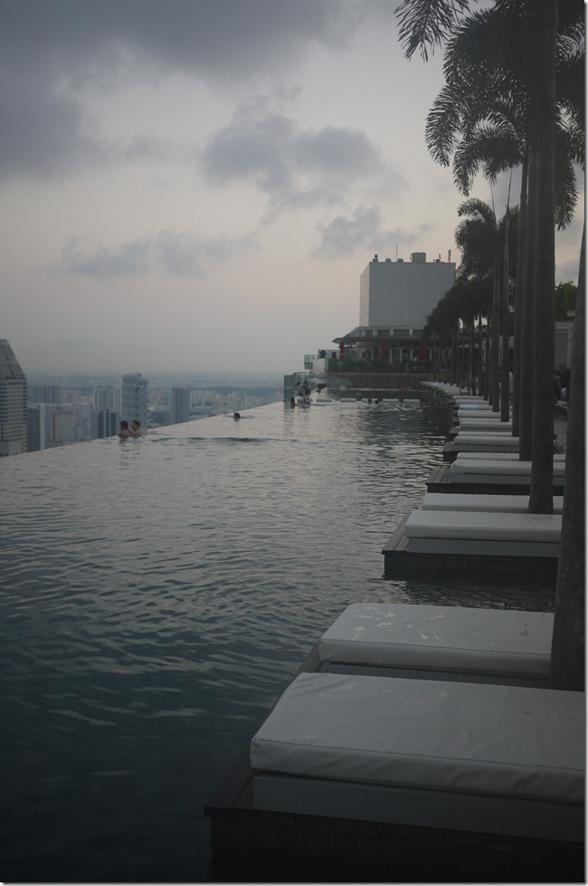 SkyPark Pool Marina Bay Sands, Singapore