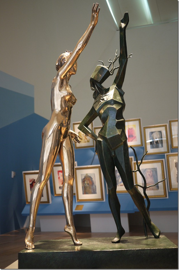 Homage to Terpsichore, conceived in 1977 first cast in 1984, bronze