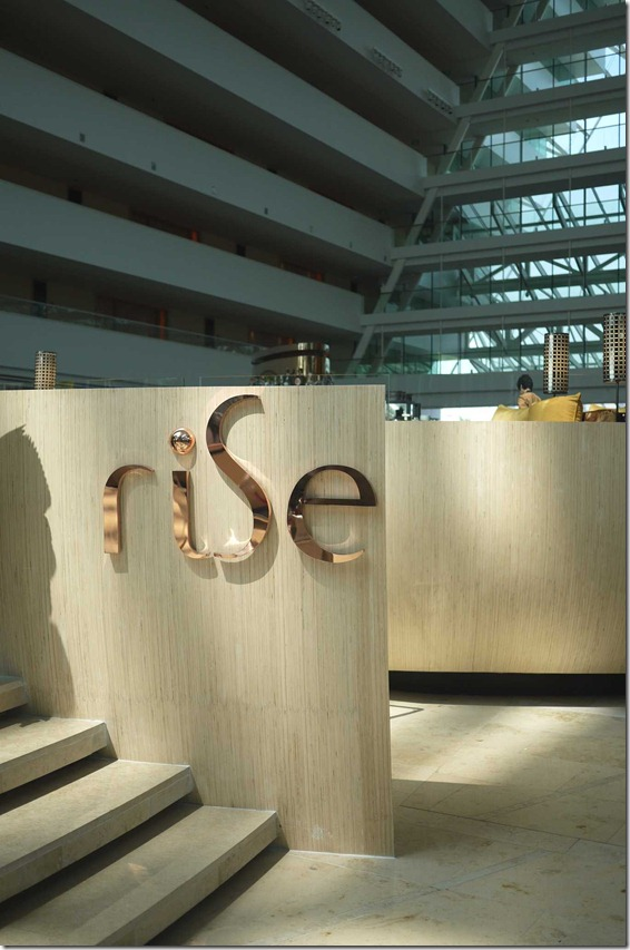 Rise coffee lounge, Marina Bay Sands