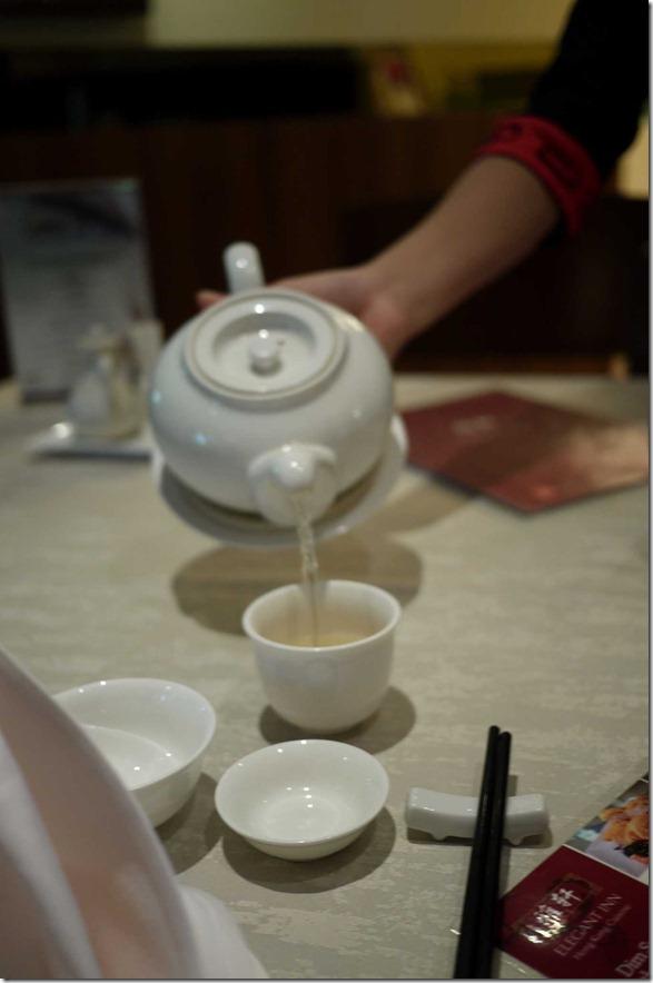 Jasmine tea, Elegant Inn