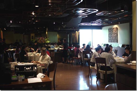 Dining room, Elegant Inn, Menara Hap Seng, Kuala Lumpur