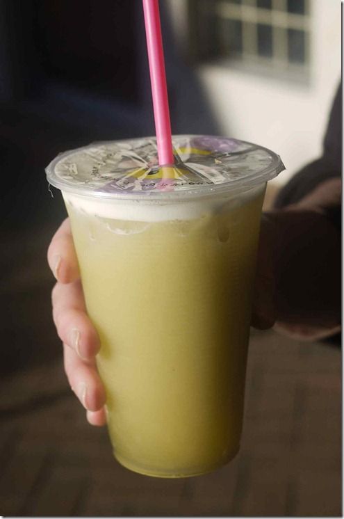 Fresh sugar cane juice $3.50
