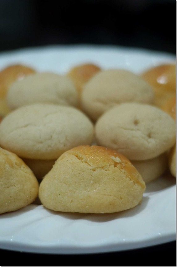Chinese baked cookies