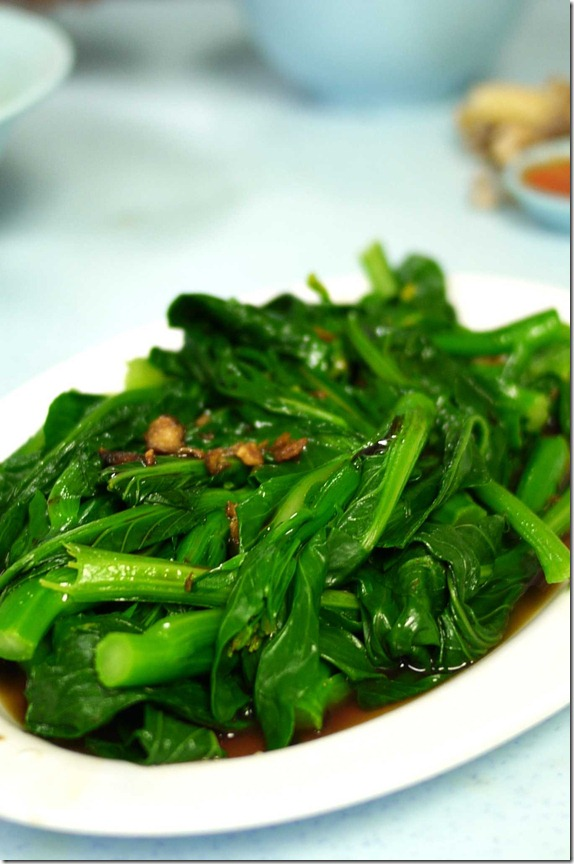 Kai lan vegetables RM5.00 or approximately A$1.60