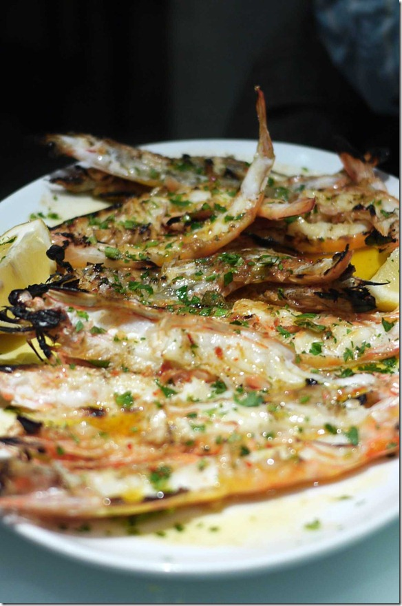 Gambas Grelhadas or BBQ king prawns $35.90