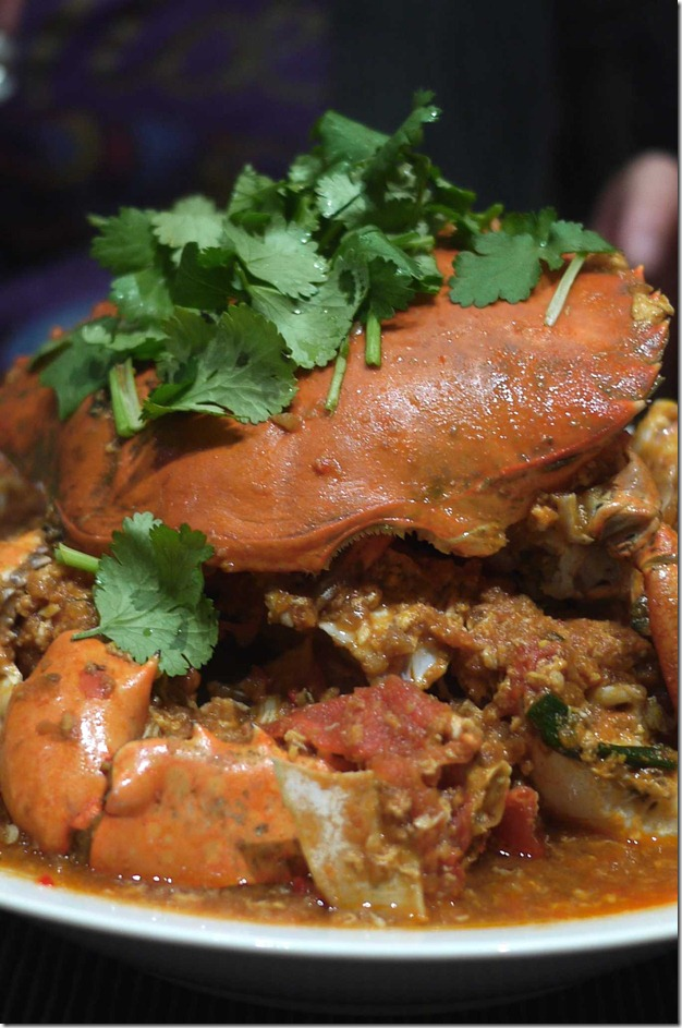 Mysaucepan's Singapore chilli crab