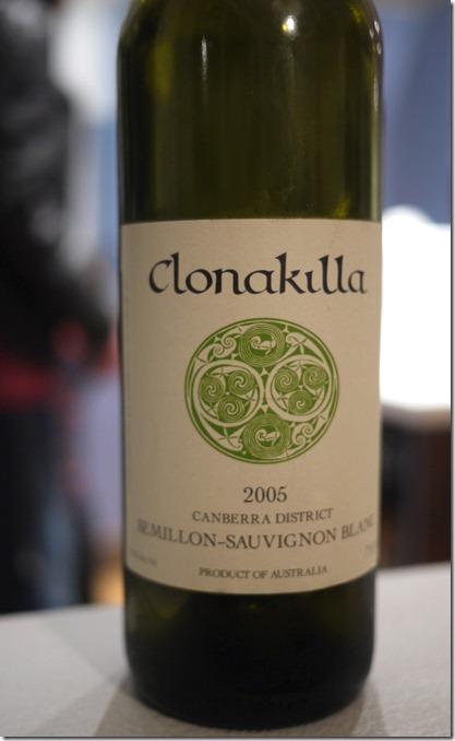 2005 Clonakilla Semillon-Sauvignon Blanc