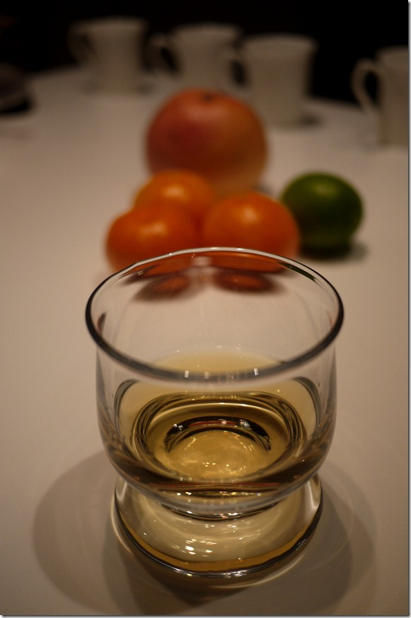 Scotch whisky in Orrefors crystal short glass