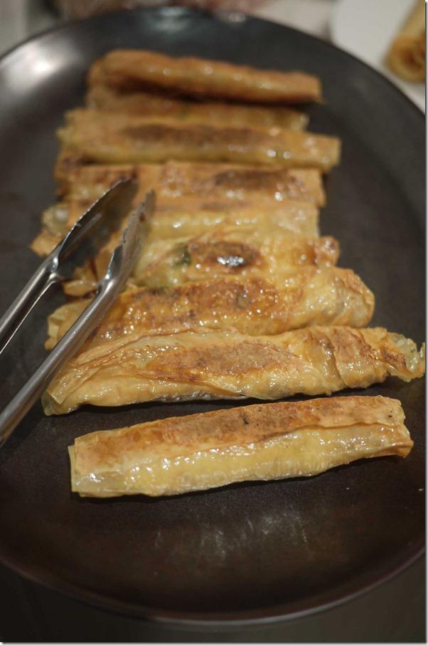 Seared beancurd rolls