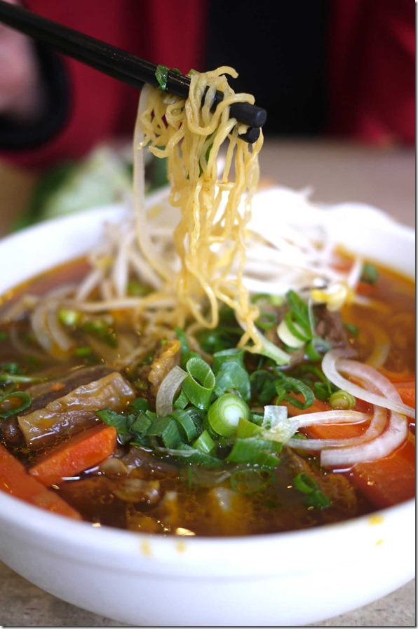 Mi Bo Kho or Vietnamese beef stew $9 @ Hoang Gia Vietnamese rice noodle restaurant