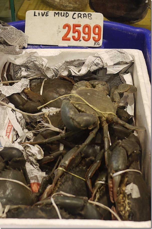 Mud crabs $25.99