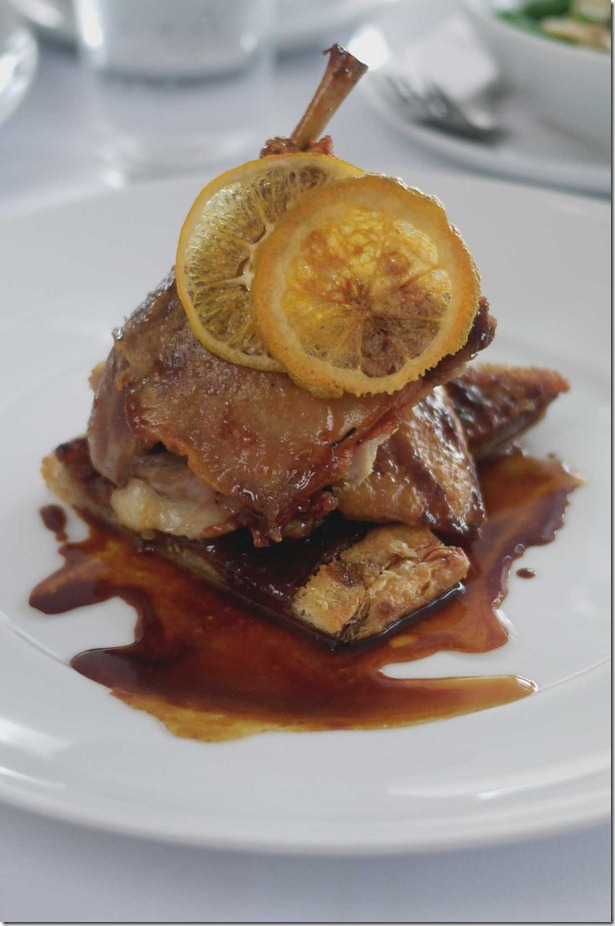 Crispy duck with orange marmalade $48
