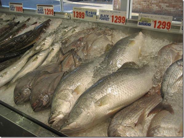 Barramundi $12.99 per kg