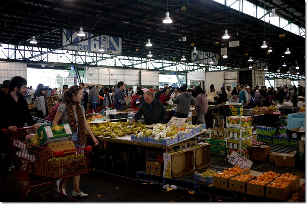 Fruit section, Sydney Markets, Flemington