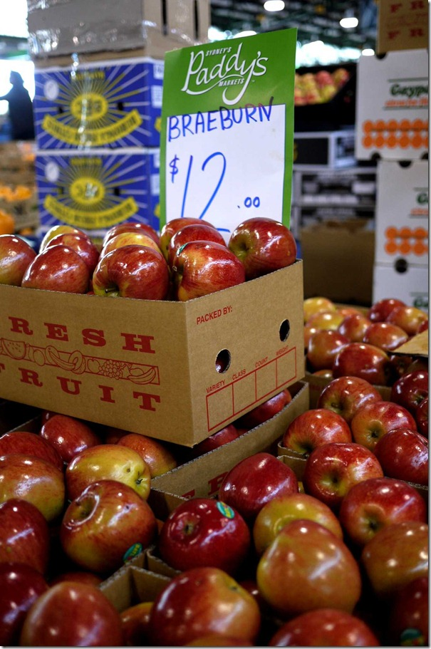 Braeburn apples $12 per box