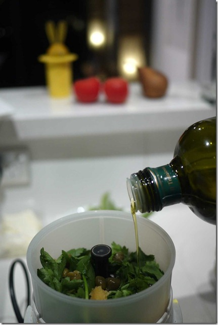 Continental parsley, capers, garlic, anchovies and olive oil