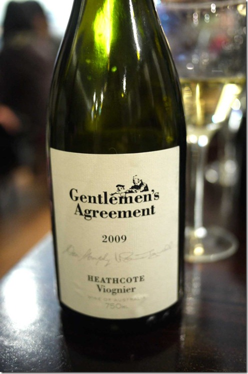 2009 Gentleman's Agreement viognier