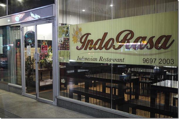 Indo Rasa Indonesian Restaurant, Kingsford