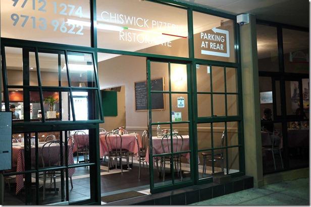 Chiswick Pizzeria Ristorante, Chiswick