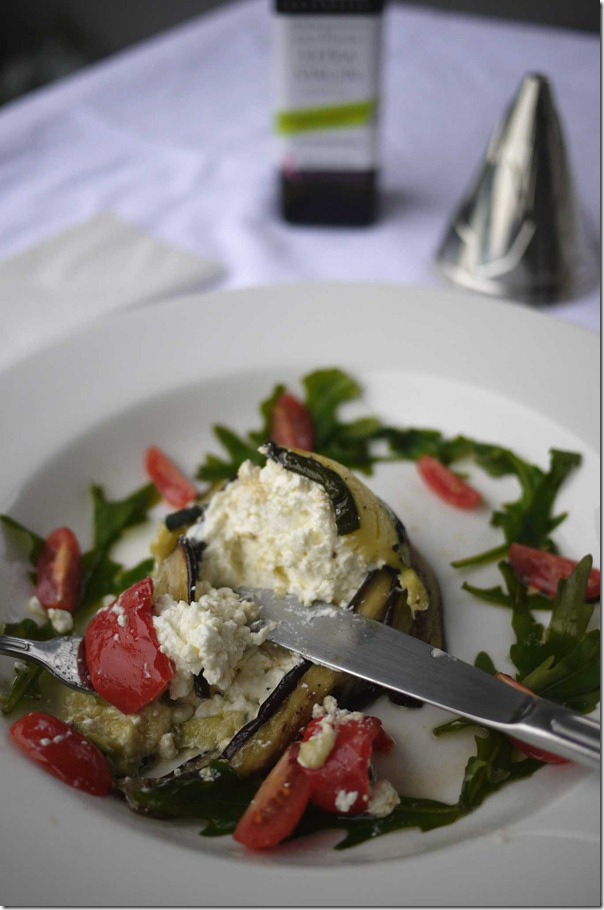 Colours of Italy - Antipasto with rocket salad