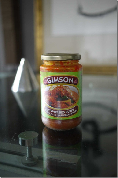Gimson nyonya red curry sauce