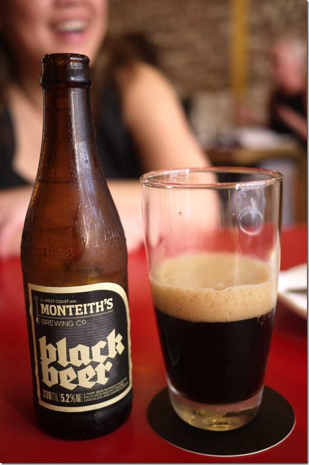 Montieth's black beer