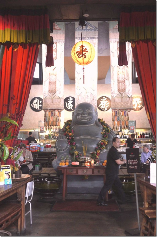 Iconic - the smiling buddha at Chinta Ria ... Temple of Love